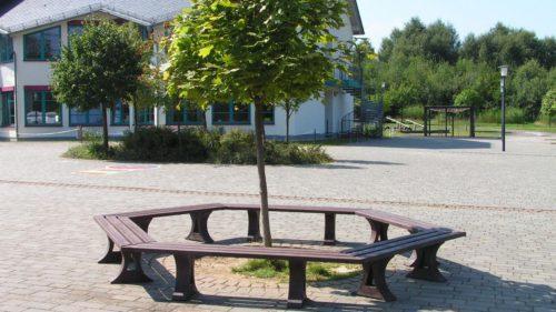 mobiliario urbano plastico reciclado