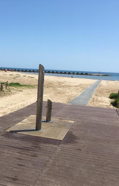 pasarelas playa plastico reciclado