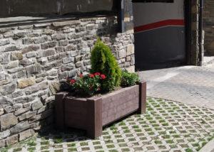 jardineras plastico reciclado