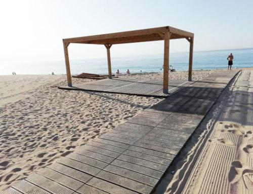 Pasarelas playa  MATARO