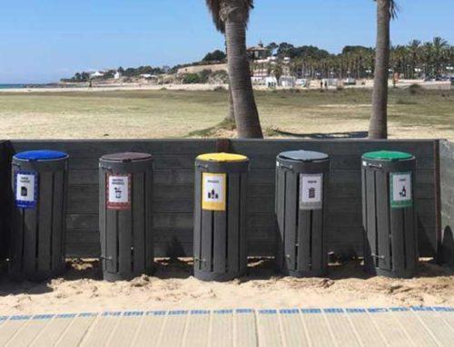 Papeleras selectivas «Playa Vilanova» Vilanova i La Geltrú
