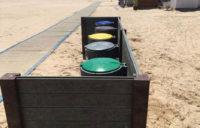 Ecopunto plastico reciclado