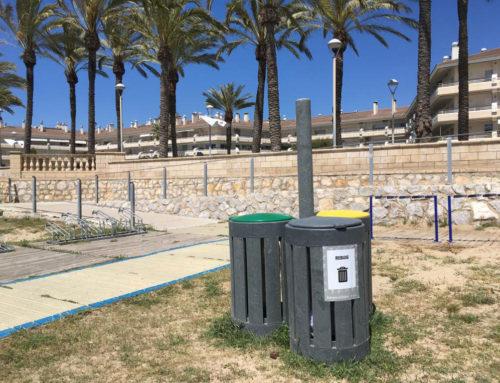 Papeleras selectivas «Playa de la Republica»   Vilanova i la Geltrú